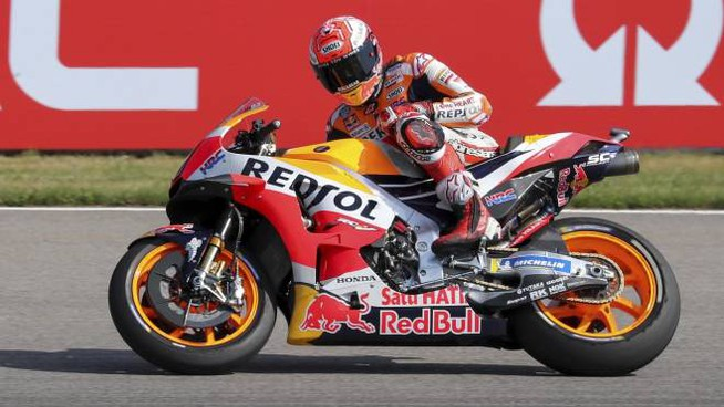 Marc Marquez in pole (Ansa)