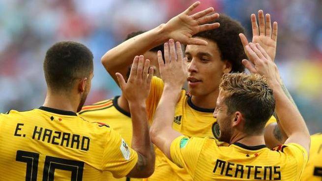 Il Belgio batte l'Inghilterra nella finalina (Ansa)