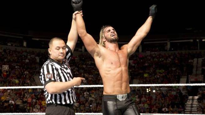 Un incontro con Seth Rollins di Wrestling