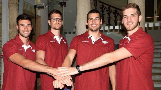 Da sinistra, Barbon, Molinaro, De Zardo e Mazzoleni (foto BusinessPress)