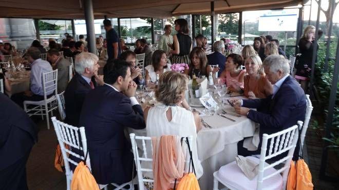 La cena di gala (foto Gianluca Moggi/New Press Photo)