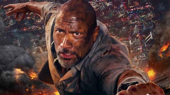 Dettagli del poster di 'Skyscraper' – Foto: Universal Pictures