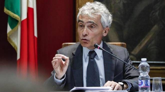 Il presidente dell'Inps, Tito Boeri, in audizione (Ansa)