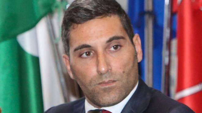 Il sindaco di Morbegno Andrea Ruggeri