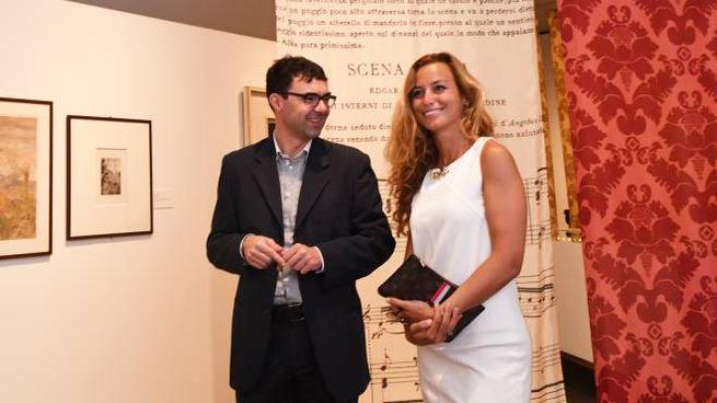 Beatrice Venezi in visita al Museo Puccini