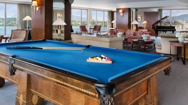 La suite dell'Hotel President Wilson di Ginevra - Foto: www.hotelpresidentwilson.com