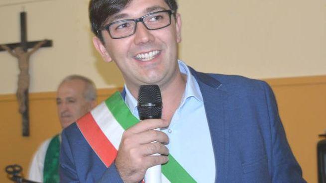 Il sindaco di Piuro, Omar Iacomella