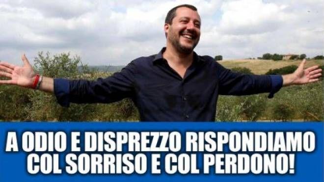Il post di Matteo Salvini (Dire)