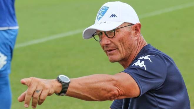 L'allenatore dell'Empoli, Aurelio Andreazzoli (Germogli)