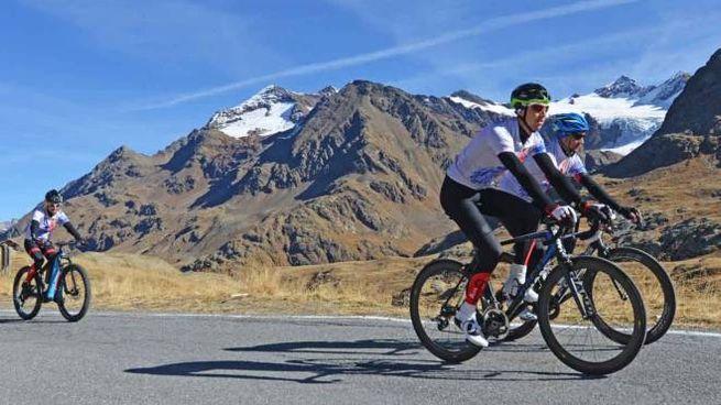 Stelvio in bicicletta