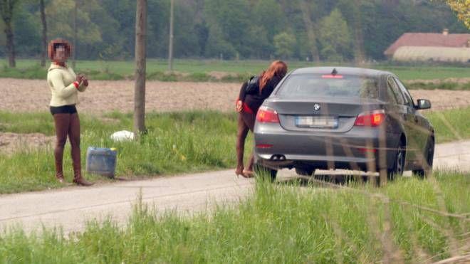 Una foto di prostituzione