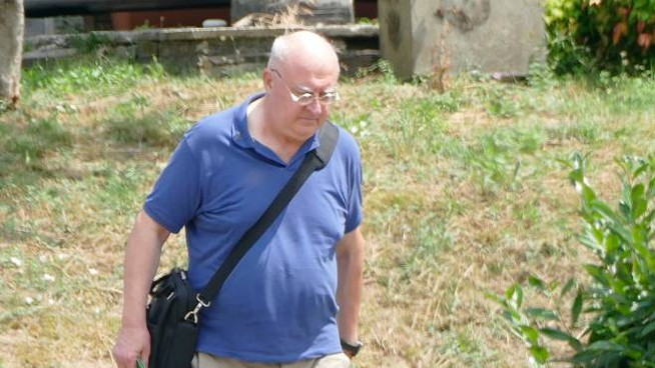 Il parroco Paolo Glaentzer
