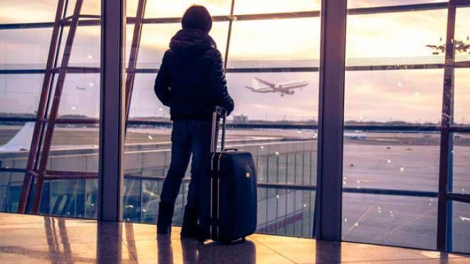 Viaggi, aeroporto (Foto Ansa)
