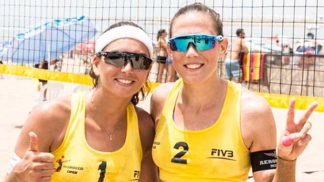 Marta Menegatti (a sinistra) e Viktoria Orsi Toth