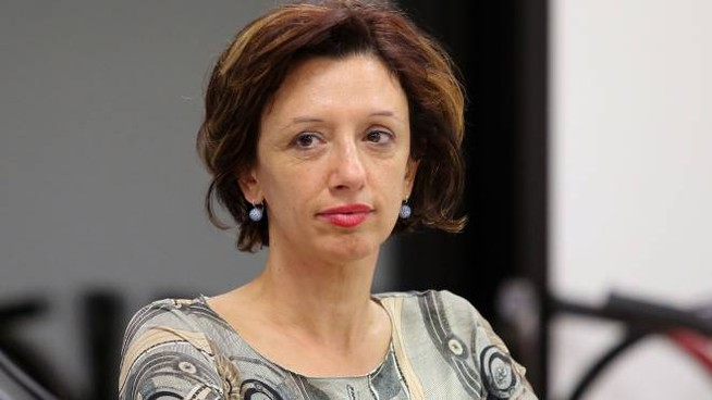 a sindaca grillina Manuela Sangiorgi