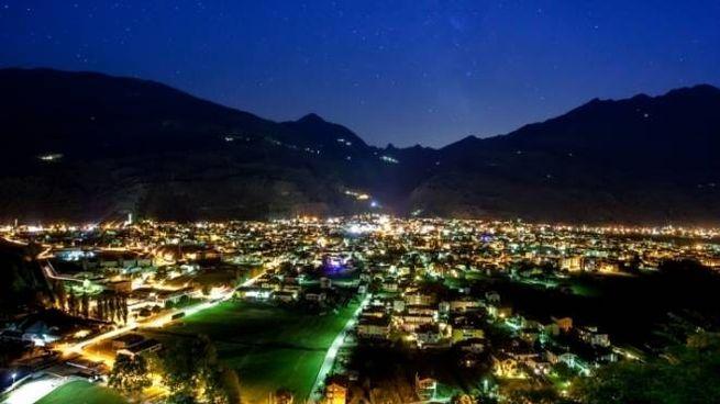 A caccia di stelle cadenti in Valtellina