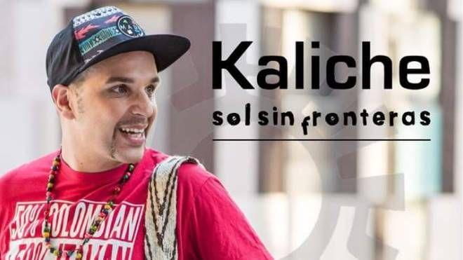 L'artista colombiano Kaliche