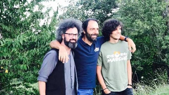 RisorgiMarche: Cristicchi, Marcorè e Meta a Casalicchio(foto ufficio stampa RisorgiMarche)