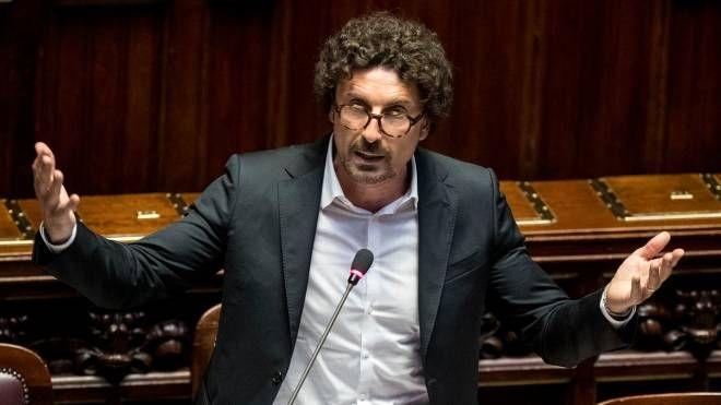 Danilo Toninelli, ministro delle infrastrutture e dei trasporti (LaPresse)