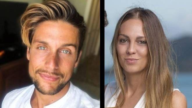 Andrew, dal suo profilo Instagram (Andrea Dal Corso). A destra Martina