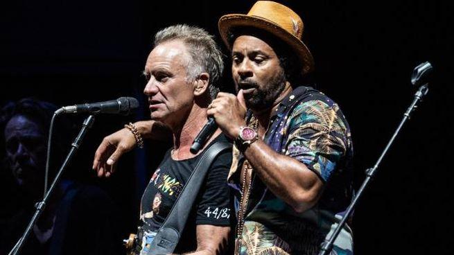 Sting e Shaggy (Ansa)