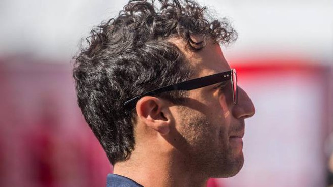 Il pilota di Formula 1 Daniel Ricciardo (Ansa)