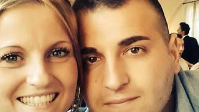 Veronica e Cristian Cappa, i genitori della piccola