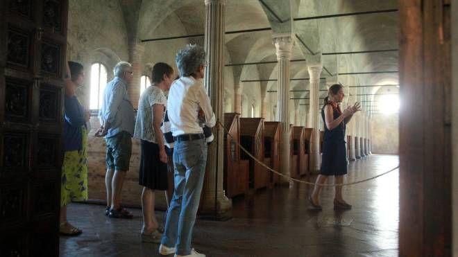 Anche in estate proseguono le visite all'alua del Nuti alla Biblioteca Malatestiana