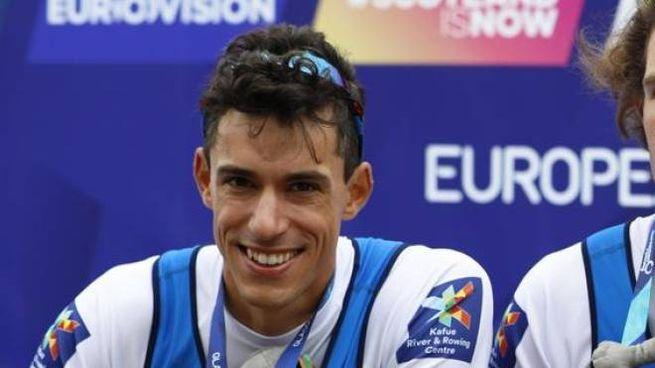Matteo Mulas, il ternano medaglia d'oro agli Europei di canottaggio