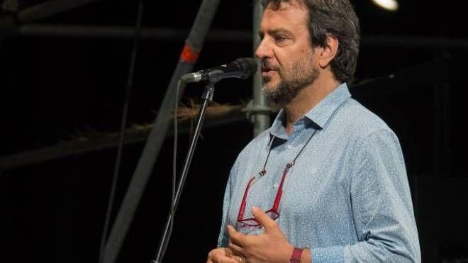 Luciano Linzi, direttore artistico con Titti Santini