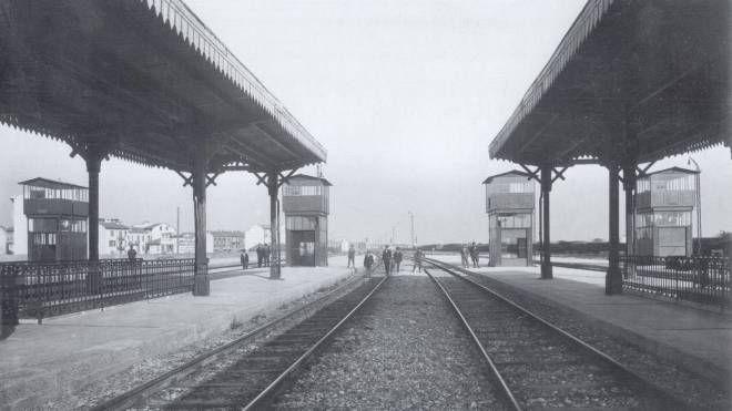 La stazione di Lambrate agli inizi degli anni Trenta