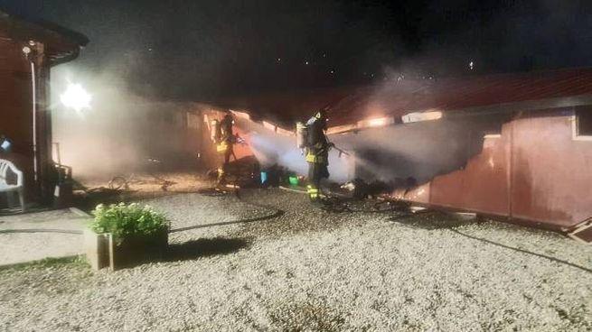 L'incendio al canile di Lipomo (Cusa)