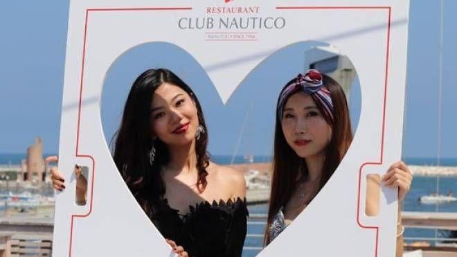 Le due cinesi Guo Shuwen e Amelie Wei