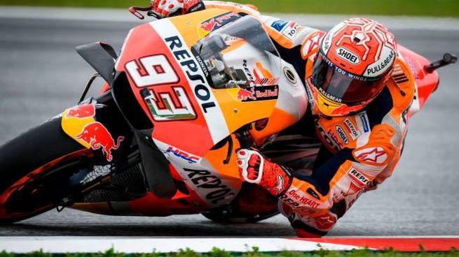 Motogp Austria, Marquez in pole (LaPresse)