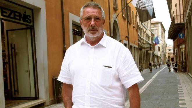 L'ex presidente del Cesena calcio Giorgio Lugaresi (Foto Ravaglia)