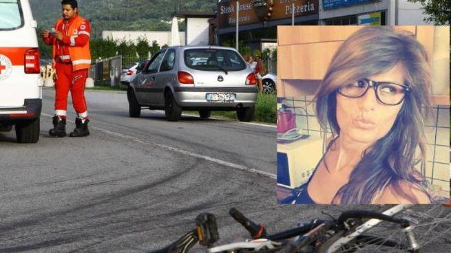 il luogo dell'incidente e la vittima, Michela Zucchi