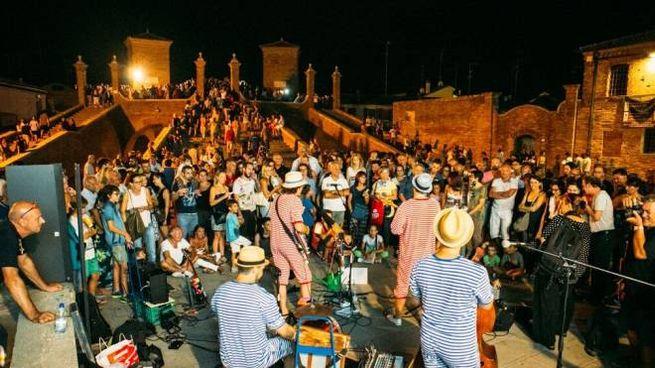 I buskers a Comacchio nella scorsa edizione