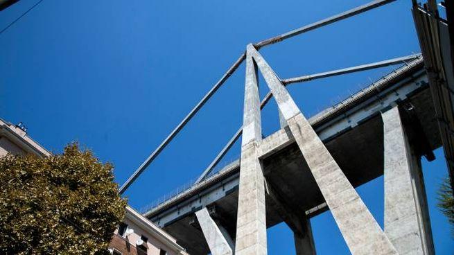 Ponte Morandi di Genova, le case di via Fillak (Lapresse)