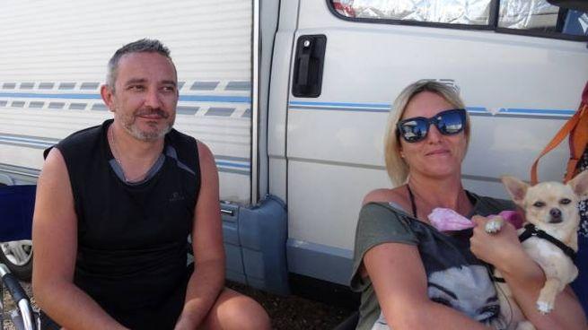 I coniugi Duilio e Anita Zagatti