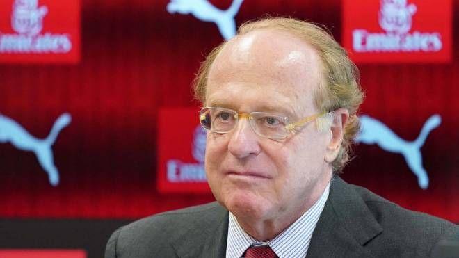 Il presidente del Milan Paolo Scaroni