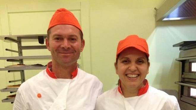 I titolari di 'Sfizi di Puglia' Luigi Gammino e Angela Sciusco