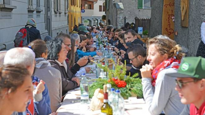 Pizzoccherata più lunga d'Italia