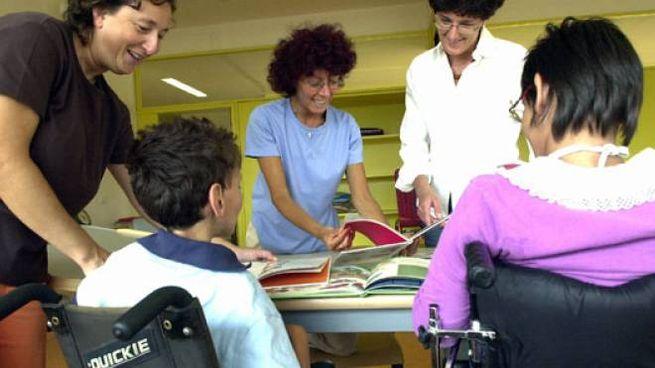 Scuola con bambini disabili
