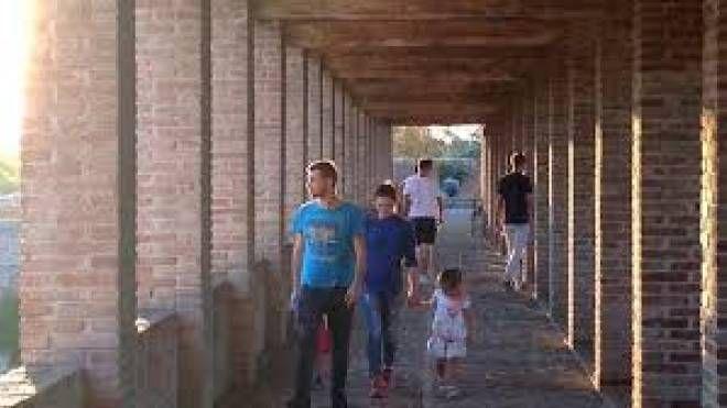 Visitatori alla Rocca sforzesca