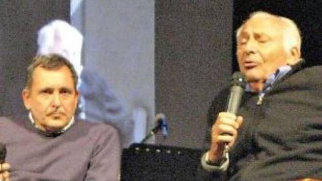 Riccardo Canesi con Mogol