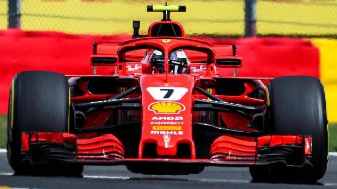 Kimi Raikkonen è stato il più veloce nelle FP2 (Ansa)
