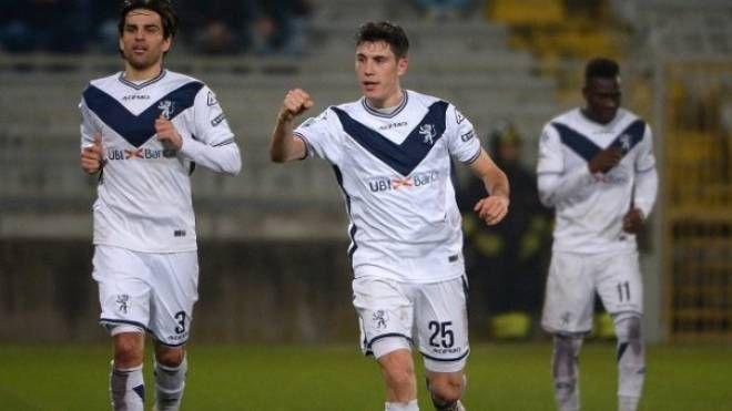 Dimitri Bisoli ha siglato lo splendido gol del vantaggio e causato il rigore del pareggio