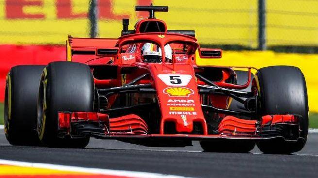 Sebastian Vettel, 31 anni (Ansa)