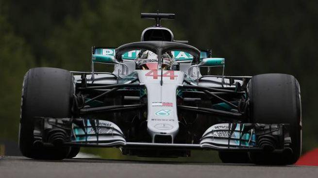 Lewis Hamilton, pole position numero 78 per lui (LaPresse)