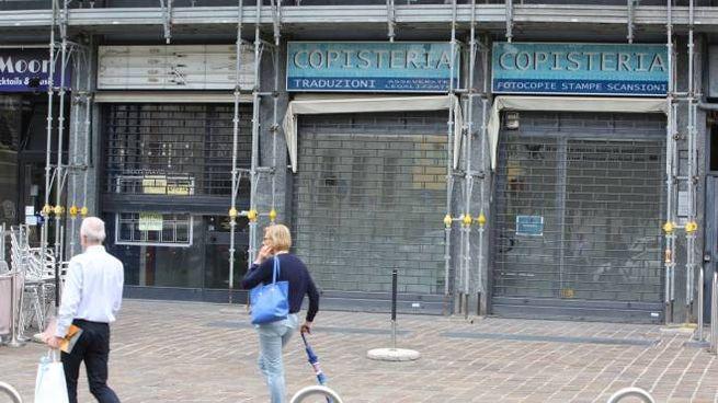 Monza, strage di negozi nel centro storico - Cronaca - ilgiorno.it